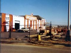 Grossman's Side Yard Marlton NJ 020280 (JSF0864) Tags: former ap grossmans lumber yard entrance sign