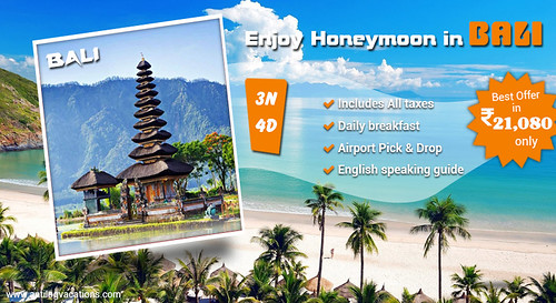 Bali Holiday packages from India