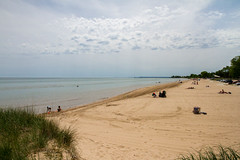 Thursday Afternoon (Lester Public Library) Tags: water sand sky springtime neshotahbeach neshotah neshotahpark tworiverswisconsin tworivers wisconsin lakemichigan greatlakes beach beaches clouds lake lesterpubliclibrarytworiverswisconsin readdiscoverconnectenrich