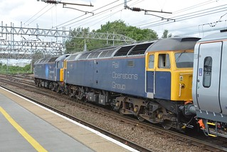 Rail Operations Group Class 47/8's, 47813 & 47812