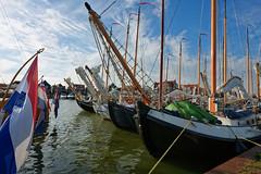 Volendam (Julysha) Tags: volendam ship harbour june summer dxo 2018 thenetherlands noordholland d800e nikkor142428 sky