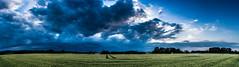Rain? (Fotos aus OWL) Tags: pano panorama himmel wolken natur landschaft felder landwirtschaft nrw kreislippe
