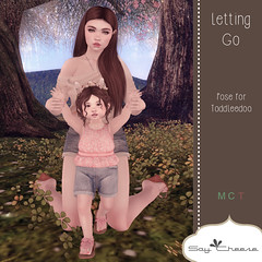 [SC] Letting Go (Jany Bluebird) Tags: toddleedoo toddleedoopose family kids virtual secondlife secondlifepose summer avatars avatar virtualworld mother father siblings sister brother familypicture
