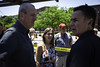 Governor Phil Murphy and First Lady Tammy Murphy respond to the aftermath of the a shooting at the Trenton Art All Night festival that left 20 injured and 1 person dead on Sunday, June 17, 2018. Edwin J. Torres Governor's Office. (GovPhilMurphy) Tags: sportsbetting sports bet gamble borgata monmouth casino governorphilmurphy tammymurphy artallnight 24hours trenton shooting crime guns gunviolence newjerseystatepolice njsp