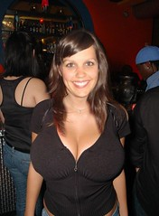 Braless on a First Date (tojo442001) Tags: ygwbt hottie babe braless juggs cleavage busty boobies bigtits bigboobs