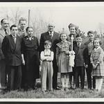 Archiv P146 Kinderkommunion in Nürtingen, 1950er thumbnail