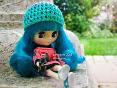 (Linayum) Tags: petiteblythe blythe blythedoll crochet ganchillo handmade doll dolls muñeca muñecas takara soda linayum