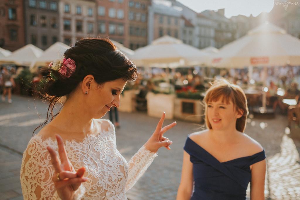 444 - ZAPAROWANA - Kameralny ślub z weselem w Bistro Warszawa