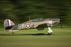 Hurricane MK1B (AdrianH Photography) Tags: nikon 70200 aviation aeroplanes airshows aircraft shuttleworth d7200