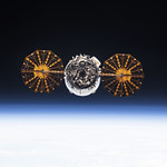 The Cygnus spacecraft. Original from NASA. Digitally enhanced by rawpixel. thumbnail