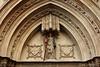 Santa Eulalia.Timpà de la Catedral de Barcelona (Aleix Barcelona) Tags: barcelona catedral church santaeulàlia catalonia spain christian religon architecture