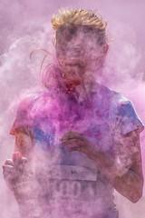 Contact.. (Andy J Newman) Tags: children color rainbow blaise blaisecastle bristol charity childrenshospicesouthwest colour colourrun d500 fundraising hospice nikon rainbowrun run england unitedkingdom gb girl young younggirl
