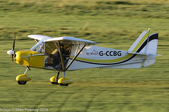 G-CCBG - 2002 build Best Off Skyranger, arriving on Runway 26L at Barton, part of the LAA 70th Anniversary Tour (egcc) Tags: bmaahb240 barton bestoff cityairport egcb gccbg lightroom mailer manchester microlight skyranger stannard swift wallis laa70thanniversarytour