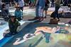 Jessie and the Octopus (- drsteve -) Tags: i madonnari octopus chalk art santa barbara pavement festival