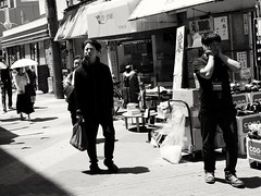 2018-06-22_08-22-06 (jumppoint5) Tags: street urban people osaka japan constrast city together expressions blackandwhite light shadow