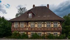 Schleusingen  (1) (berndtolksdorf1) Tags: deutschland thüringen schleusingen fachwerk bebäude historisch schule outdoor