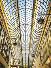 328 of 365: Passage Jouffroy By Coincidence (tainkeh) Tags: architecture arcade pattern leading artdeco travel france paris 365
