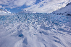 A Bleeding Frozen Land (Dhari .K ALFawzan) Tags: mountain mountainside canon glacier frozen ice alaska wilderness snow sky clouds landscape photography climate change explore adventure travel world north