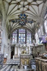 St Mary's Church, Warwick (carolyngifford) Tags: stmaryschurch warwick beauchampchapel vaulting stainedglass tombs