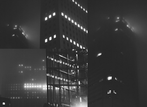 Fog at night