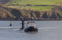 SD Forceful and FS Casabianca 2nd Feb 2018 (JDurston2009) Tags: fscasabianca frenchnavy nuclearattacksubmarine plymouthsound rubisclass s603 sdforceful ssn sercomarineservices tutt attacksubmarine devon marinenationale plymouth serco sercodenholm submarine tug warship