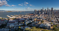 San Francisco Skyline (ER Post) Tags: americanstates california californiafebruary2018 coittower sanfrancisco trips unitedstates us