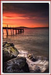 Could be worse (Deek Wilson) Tags: holywood jetty belfastlough hightide sunset seascape landscape northernireland