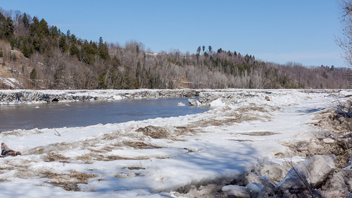 Rivière Chaudière au printemps, Beauce - 5141
