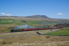35018 At Selside. 20/04/2018 (briandean2) Tags: 35018 britishindialine selside penyghent settlecarlislerailway steam railways uksteam ukrailways
