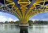 Arlequin (ANOZER Photograffist) Tags: architecture archi water seine laseine pont bridge perspective graphic anozer anozercreation paris france panorama