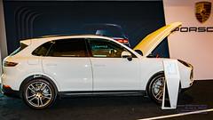 Porsche Cayenne on Display at Vancouver Intl Auto Show 2018 (AvgeekJoe) Tags: autoshow d5300 dslr nikon nikond5300 porschecayenne suv sigma1835mmf18 sigma1835mmf18dchsmart sigma1835mmf18dchsmartfornikon sigmaartlens sportsutlityvehicle vancouverinternationalautoshow auto automobile car carshow vancouverconventioncentre vancouver canada britishcolumbia 2018vancouverinternationalautoshow