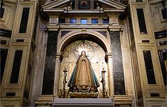 cathedral, interior......... (atsjebosma) Tags: spain cathedral cathedraal interior barok gotic atsjebosma murcia spanje 2018 houten wooden altar altaar