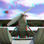 Monument to first flight across South Atlantic Belém 3D thumbnail