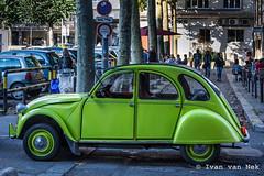 Green:2CV@Rouen (Ivan van Nek) Tags: placedelahautevieilletour rouen seinemaritime france 76 frankreich frankrijk normandie nikon d7200 nikond7200 2cv citroën green groen vert grün derailinator