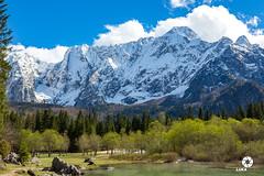 Mangartska jezera in slap Peričnik (luka.rener) Tags: mangart mangartskojezero pomlad