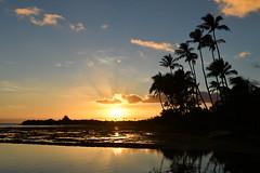 Hawaiian Sunset (trailwalker52) Tags: oahu hawaii sunset hawaiiansunset hawaiian hawaiisunset beautiful peaceful hawaiikai eastoahu