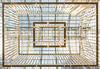 Inside the Rijksmuseum (reinaroundtheglobe) Tags: rijksmuseum amsterdam architecture towardsthesky modernarchitecture netherlands indoors lookup daytime sky symmetrical symmetry square