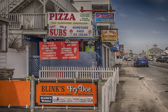 Signs and Boulevard--Off Season (PAJ880) Tags: signs pizza subs fry doe ocean boulevard hampton beach nh offseason resort new hampshire