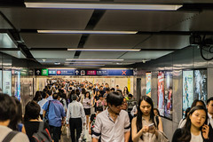 Rush Hour - Hongkong 147/188 (*Capture the Moment*) Tags: 2017 hongkong mtr menschenmassen people rushhour sonya7m2 sonya7mii sonya7mark2 sonya7ii sonyilce7m2 subway subwaystation