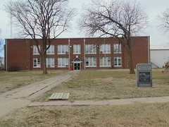 88. Randall's old school, now possibly a private home. 3-27-18 (leverich1991) Tags: exploring kansas 2018 randall ghost town jewell