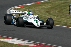 Williams FW07C ({House} Photography) Tags: fia masters historic formula one championship f1 msvr car automotive brands hatch uk kent fawkham race racing motor sport motorsport canon 70d housephotogaphy timothyhouse sigma 150600 contemporary williams fw07c