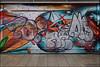 Zonk / Anik / Drear (Alex Ellison) Tags: zonk ac dds anik smc tbf drear kc shop store shutter throwup throwie southlondon urban graffiti graff boobs