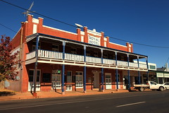 Royal Hotel, Dunedoo NSw (Darren Schiller) Tags: dunedoo hotel royal abandoned australia architecture alcohol building closed community accomodation newsouthwales disused deserted empty facade balcony verandah bricks history heritage country smalltown old