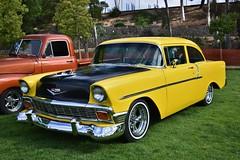 La Cañada Fiesta Days Vintage Car Show 2018 (USautos98) Tags: 1956 chevrolet chevy 210 hotrod streetrod custom