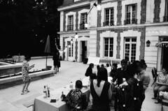 Anniversaire Olivier 40 (yovomaltine) Tags: anniversaire birthday 40 40th chateau castle analog film blackandwhite