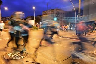 cursa nocturna de L'Hospitalet