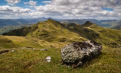 The high places (trojanhorse1956) Tags: tarmachan nan meall killin scotland highlands munros clouds rock ridge nikon