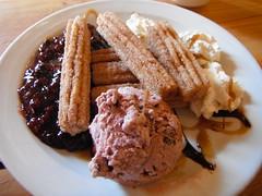Sweet on You ... (Mr. Happy Face - Peace :)) Tags: foodart2018 icecream saskatoons berries goodness macromondays hmm theme 7dwf dessert