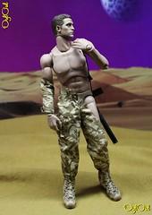 №532. Tribute to Michelangelo's David (OylOul) Tags: oyloul 16 action figure damtoys hottoys custom 2018 q2