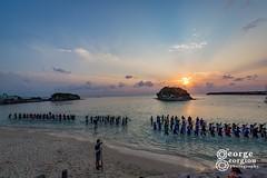 Japan_20180314_2073-GG WM (gg2cool) Tags: japan okinawa gg2cool georgiou dragon boat training sunset food paddle rowing beach